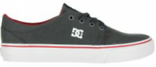 DC Shoes Youth Trase TX dk shadow/white/athletic red Kinder Skaterschuh Boys NEU