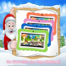 "7"" Inch Android 4.4 Quad Core Kids Tablet PC Dual Camera WiFi 8GB UK Plug GO"