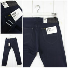 NUEVO LEE 101 Vaqueros Blanco Roble Seco Orillo Denim Entallado -woven en USA