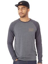 Camiseta con mangas raglan Billabong Die Cut Dark Gris Heather