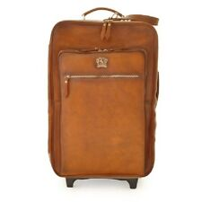 Pratesi borsa trolley in pelle da viaggio italian leather travel bag trolley