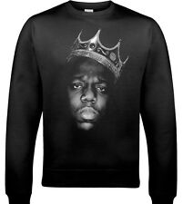 The Notorious B. I.G.Biggie PICCOLI Felpa GRANDE HIP-HOP Maglione hip-hop rap