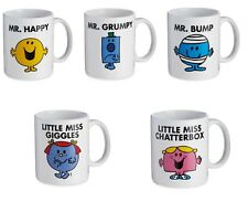Mr Men & Little Miss Ceramic Mug  - Grumpy / Happy / Bump / Giggles / Sunshine
