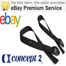 1 Pair,Genuine Concept 2 Rowing Machine Foot Straps For All Models Free Delivery