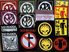 PENYWISE NOFX patches  GOOD RIDDANCE BOUNCING SOULS punk hard core
