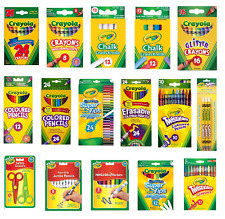 Crayola Crayons Supertips Twistables DryErase Markers Pencils Felt Tip Pen Chalk