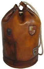 Pratesi borsone da viaggio in pelle borsa marinaio italian leather luggage bag