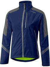 Chaqueta impermeable ciclismo mujer Altura 2017 Nightvision 3  Night Azul