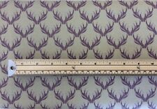 Lewis & Irene Walk in the Glen stag 100% cotton fabric quilting craft A157
