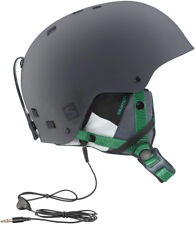 SALOMON BRIGADE AUDIO HELMET GREY FOREST GREEN
