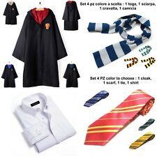 Como Harry Potter Toga Vestido Niño Carnaval Cosplay Capa Traje HARRY01B