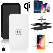 Qi Wireless Charger Charging Dock Receiver Pad For iPhone X 8 Samsung S8 S7 S6