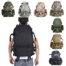 Tactical Backpack Hiking Camping Tracking Outdoor Travel Pack Military Army Bag