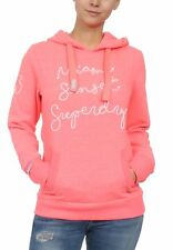 Superdry Sweater Donna Horizon Entry Fluro Fucsia Snowy