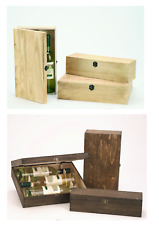 Caja de vino para 1 botellas 2 Botellas 3 Botellas