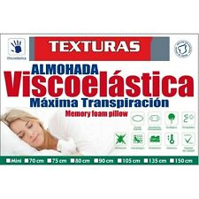 TEXTURAS HOME SECRET Cuscino VISCOELASTICO Aloe Vera ( Vari dimensioni availa