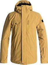 QUIKSILVER MISSION SOLID JACKET MUSTARD GOLD