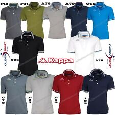 POLO KAPPA UOMO T-SHIRT PIQUET MARE SPORT TENNIS CALCIO NEW 302MX50 MALTAX 5 MSS