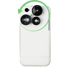 HOT For iphone 7/8+ 4 in 1 Camera Lens Kit Fisheye Wide Angle CPL Phone Case A33