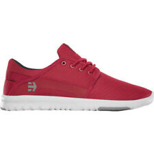 Etnies Scout Hommes Chaussures Chaussure - Red White Grey Toutes Tailles