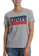 Levis T-Shirt Women THE PERFECT TEE 17369-0303 Grau