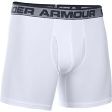 Under Armour Original 6in Boxerjock Hommes Sous-vêtements Caleçons - White