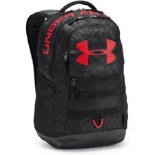 Under Armour Big Logo 5.0 Unisexe Sac à Dos - Grey Red Une Taille