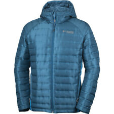 Columbia Titan Ridge Hooded Hommes Veste Doudoune - Phoenix Blue Dark Compass