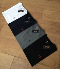 Mens Ralph Lauren Polo Short Sleeve Crew Neck T-Shirt. Custom fit [ All Sizes.]