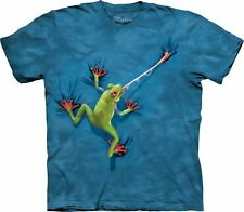 The Mountain Unisex Adult Frog Tongue Reptiles T Shirt