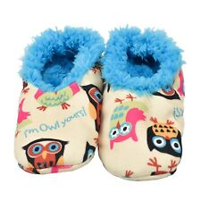 LazyOne Unisex I'm Owl Yours Fuzzy Feet Slippers Adult