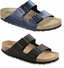Birkenstock Arizona Birko-Flor Soft-Footbed unisex Slides slippers sandals - NEW