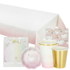 Talking Tables - Swan Pack - Party Pack and Tableware - Special Occasion