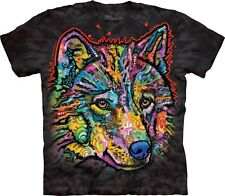 The Mountain Maglietta Happy Wolf Animal Adulto Unisex