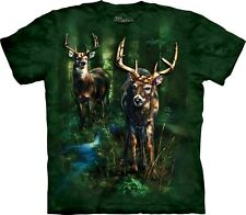 The Mountain Maglietta Unisex Adulto Dappled Deer Animal