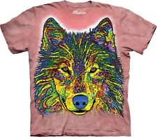 The Mountain Maglietta Russo Wolf Animal Adulto Unisex