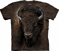 The Mountain Maglietta American Buffalo Animal Adulto Unisex