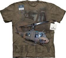 The Mountain Maglietta Huey Helicopter Adulto Unisex