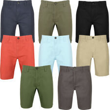 New Mens South Shore Branded Scotch Cotton Twill Casual Chino Shorts Size S-XXL