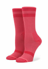 Stance Women's Socks Classic Uncommon Crew Red