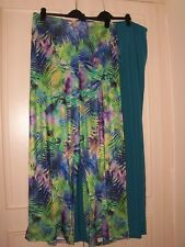NEW ATTITUDES by RENEE 2 Pairs Palazzo pants / Trousers Choice Size