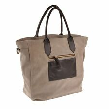 Pellevera borsa donna in pelle mobida scamosciata woman leather handbag shopper