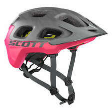 Scott Trail-MTB Helm Vivo Plus Dunkelgrau/Pink