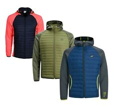 Jack & Jones Mens Tech Multi Quilted Padded Lightweight Stylish Jacket All Sizes