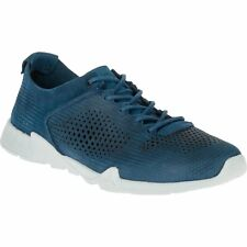 Merrell Versent Leather Perf Mens Footwear Shoe - Poseidon Blue All Sizes