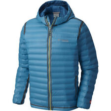 Columbia Outdry Ex Gold Hooded Mens Jacket Down - Phoenix Blue All Sizes