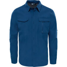 North Face Sequoia Hommes Chemise - Shady Blue Toutes Tailles