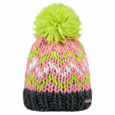Barts Nara Unisexe Couvre-chefs Bonnet - Pink Une Taille
