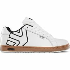 Etnies Fader Hommes Chaussures Chaussure - White Gum Toutes Tailles
