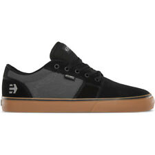 Etnies Barge Ls Hommes Chaussures Chaussure - Black Dark Grey Gum Toutes Tailles